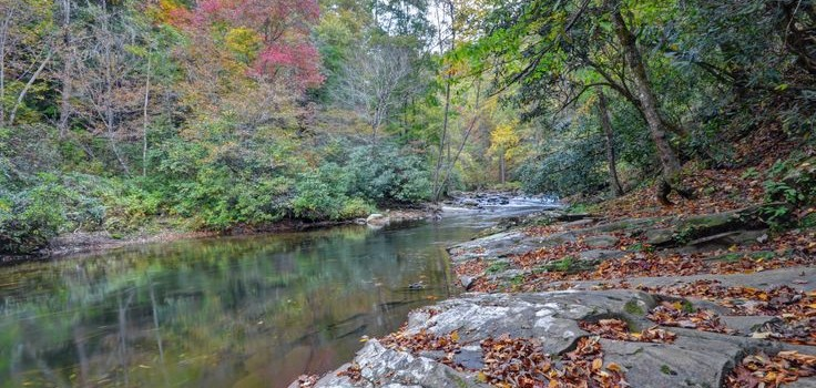 Deep Creek in Fall